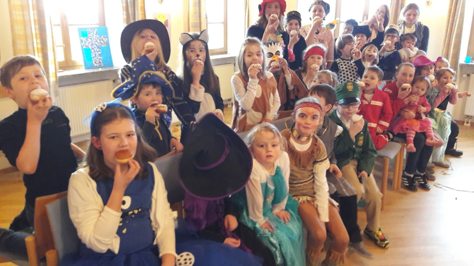 Kindergottesdienstfasching 2017